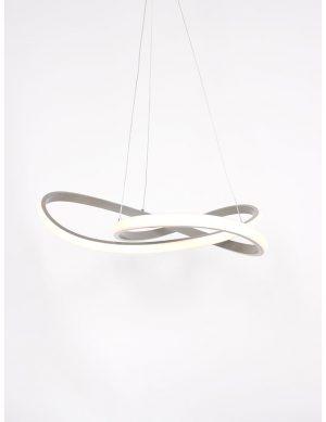 Suspension moderne en cercle acier-2552ST