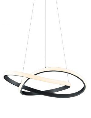 Suspension design LED noir-2552ZW