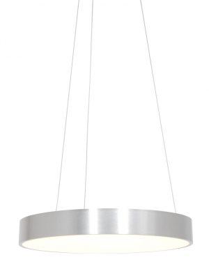 Suspension LED circulaire argent-2695ZI