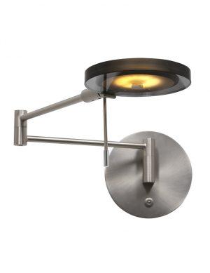 Applique LED bras orientable acier-2734ST