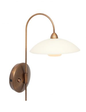 Applique LED avec bras élégant bronze-2741BR