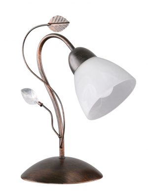 Lampe d'ambiance feuilles bronze-3151B