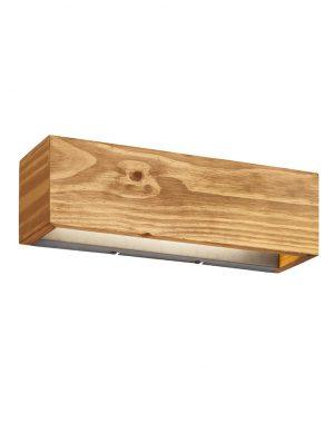 Applique LED bois marron-3153BE