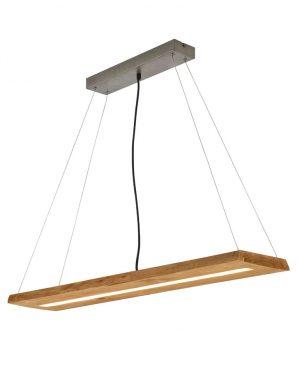 Suspension LED en bois-3155BE