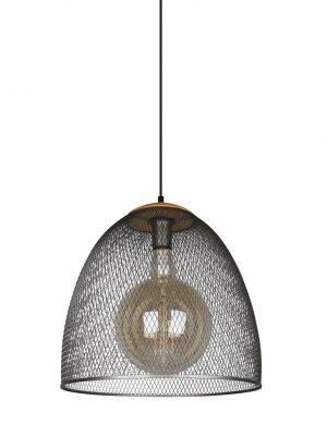 Lampe cage gris-3160ST