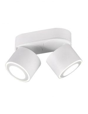 Plafonnier LED moderne deux lumières blanc-3168W