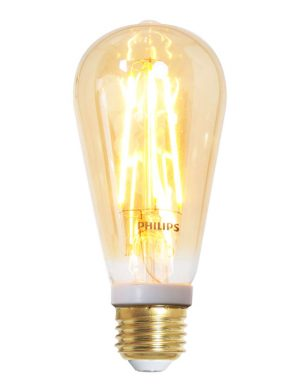 Ampoule filament LED dimmable E27 7W Philips-I15202S