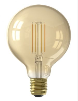 Ampoule d'ambiance LED filament dimmable E27 7W Calex-I15268S