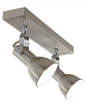 Plafonnier 2 spots moderne et industriel-1429ST