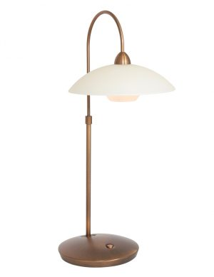 Lampe de table incurvée bronze-2742BR