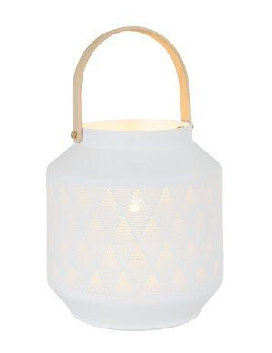Lampe de table style Ibiza blanc-3057W