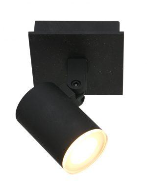 Spot LED inclinable en saillie noir-3059ZW