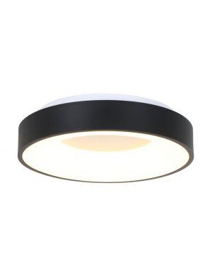 Plafonnier LED circulaire noir-3086ZW