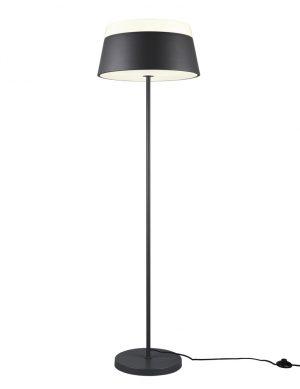 Lampadaire design noir-3132A