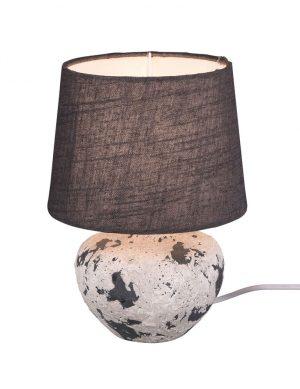 Lampe de table avec abat-jour gris-3211GR