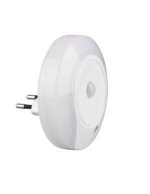 Veilleuse LED avec détecteur de mouvement blanc-3218W