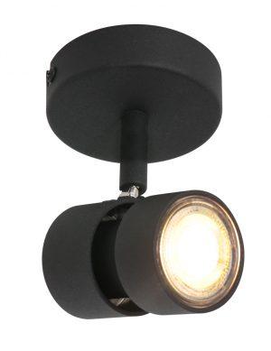 Spot LED orientable moderne noir-7901ZW